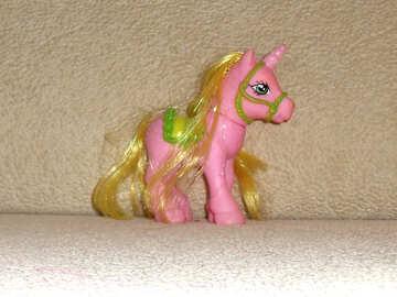 Toy unicorn №17753