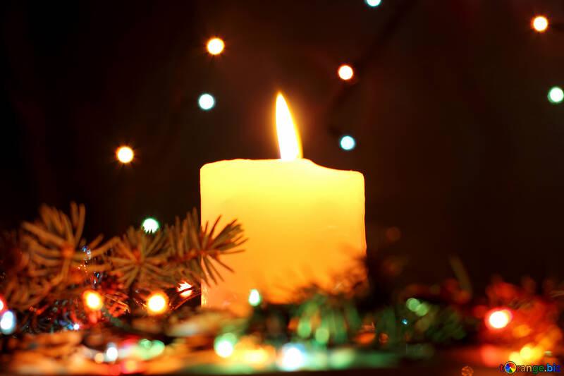 Candle for Christmas №17931