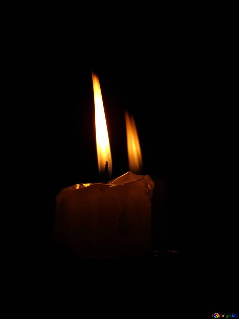Fiamma di candela №17406