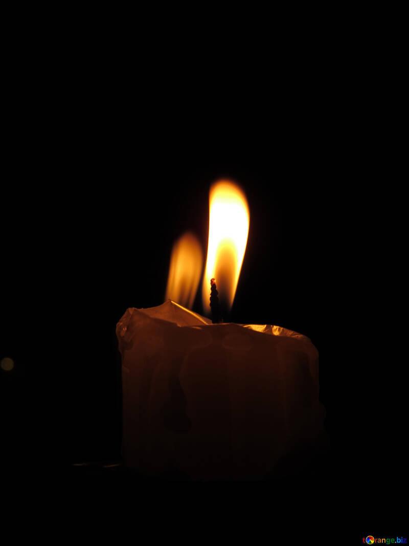 Fiamma di candela №17409
