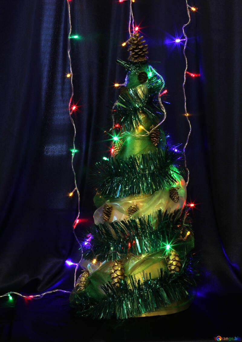 Homemade Christmas tree №17870