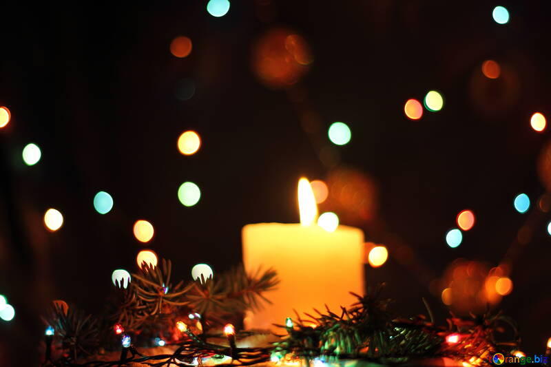 Holiday candle №17933
