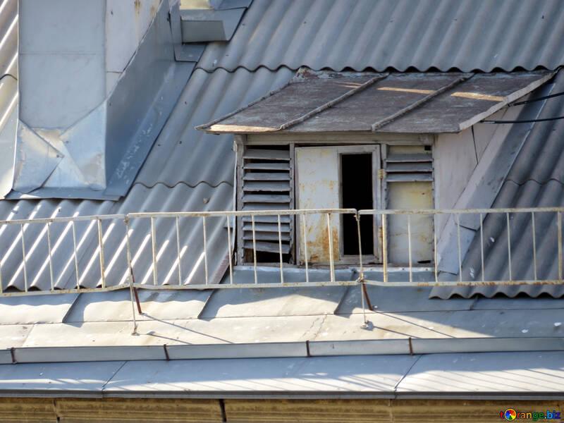 Ventilation window in the attic №17667