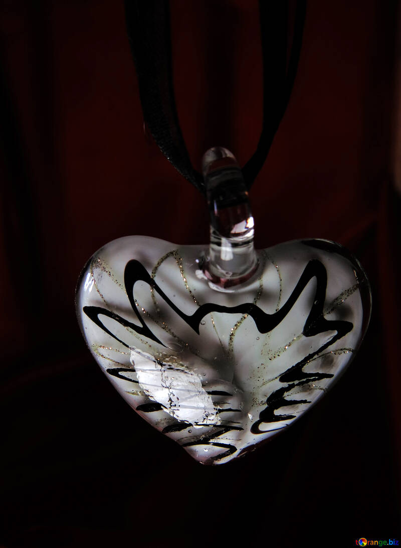 Heart on dark background №17508