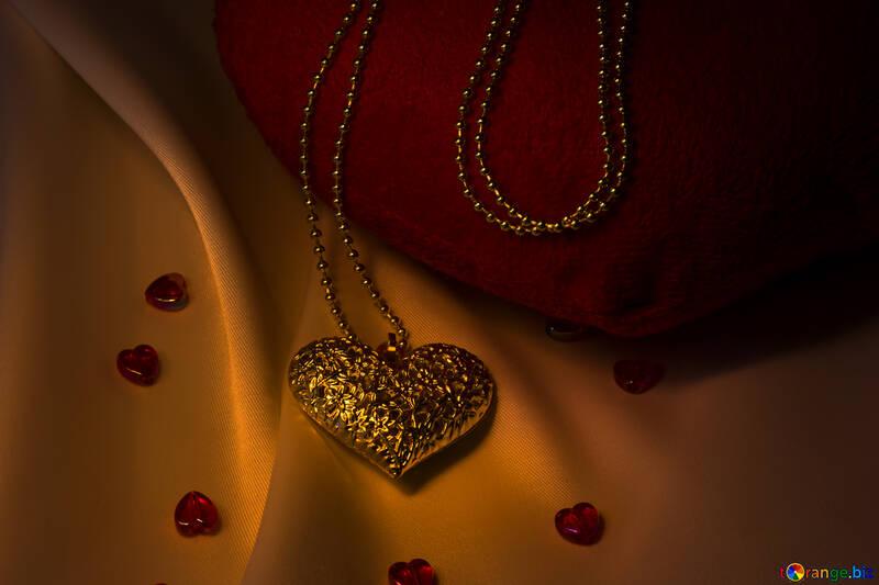 Золотое сердечко №17558