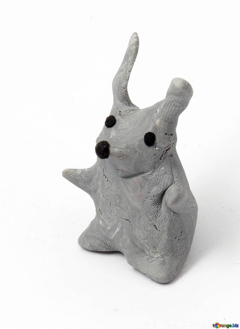 Plasticine bunny - different options 53