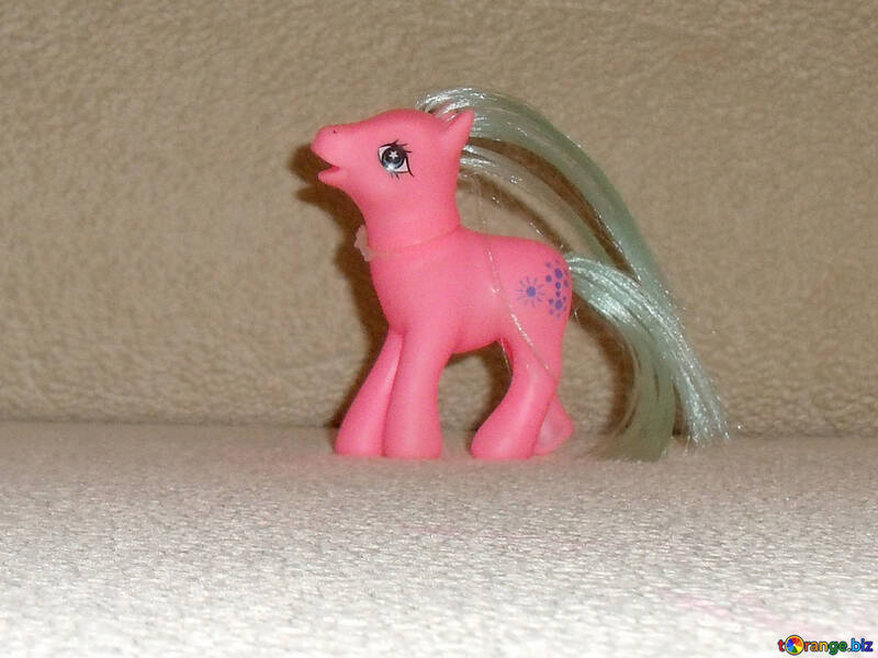 Toy pony №17741