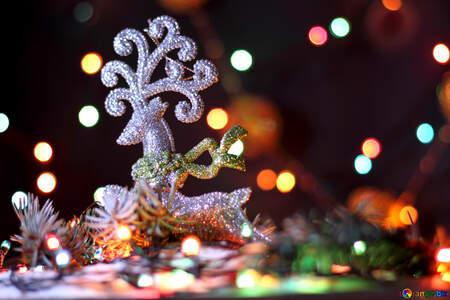 Deer Christmas №17942