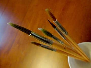Artist`s brushes №18057