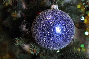 New Year`s background with ball №18370
