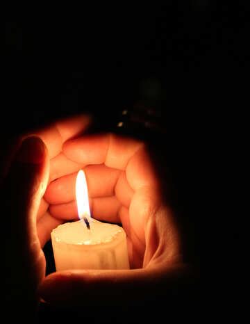 Burn up candle №18096