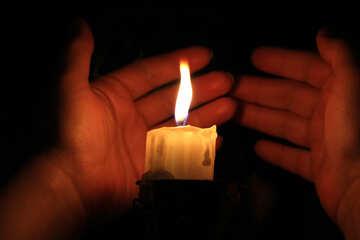 Die Wärme der Kerze №18092
