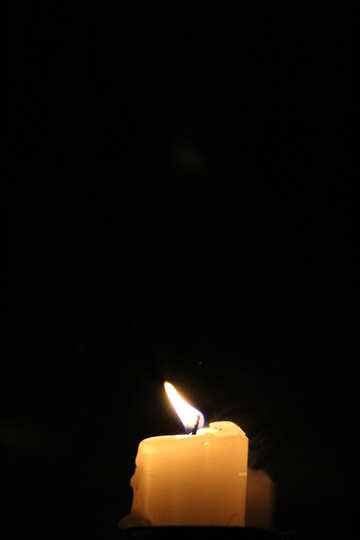 Una vela en la noche №18128