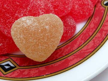 Candy heart №18537