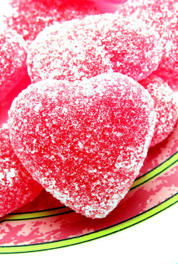 Heart on silver platter №18541