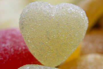 Sugar heart №18754