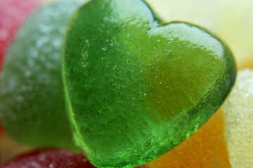 Edible heart №18750