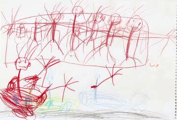Formula 1.  Children drawing. №18706