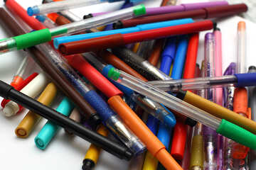 Colored pens №18599