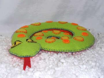 Decorating snake №18163