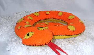 Handmade Snake gift №18165