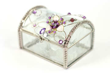 Beautiful jewelry box №18076