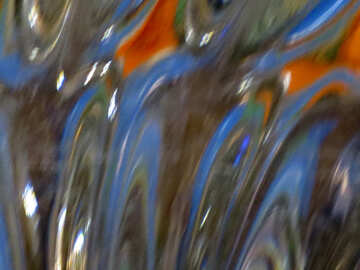 Waves on glass №18045