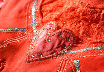 Heart with lace №18608