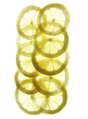 Lemon on isolated background  №18324