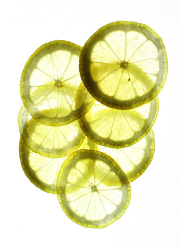 Transparent lemon №18332