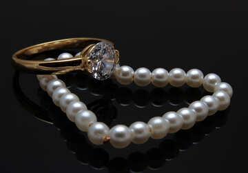 Pearl heart №18267