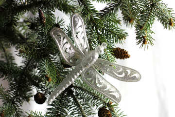 Christmas dragonfly №18396