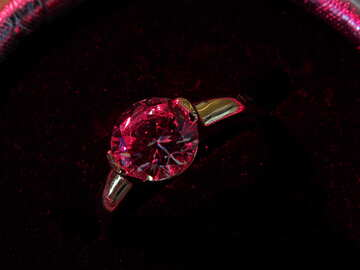Diamond ring №18290