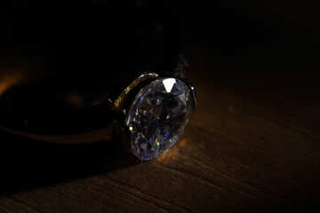 Diamond ring №18585