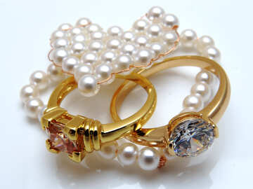 Jewelry made of pearls №18271