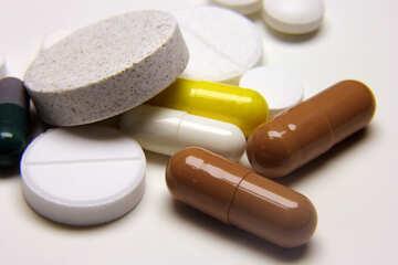 Medizinische Pillen №18832