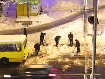 Snow removal №18065