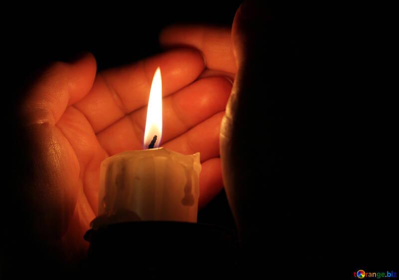 保護蠟燭火焰 №18090