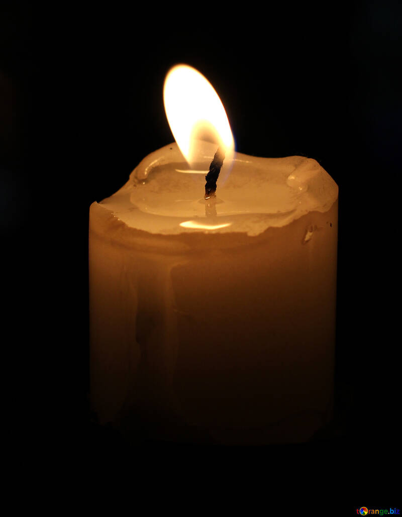 Fire candle №18136