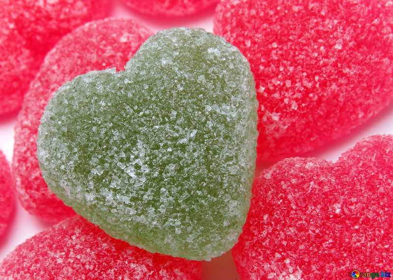 Jelly heart №18453