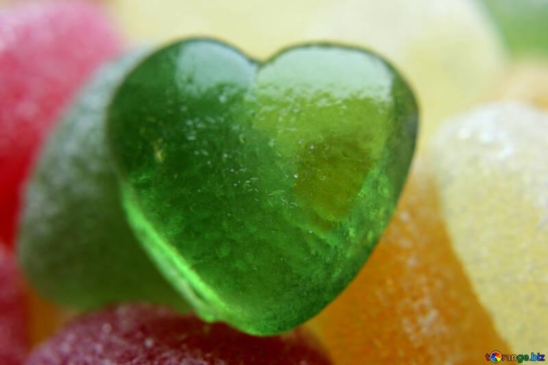 Green heart №18749