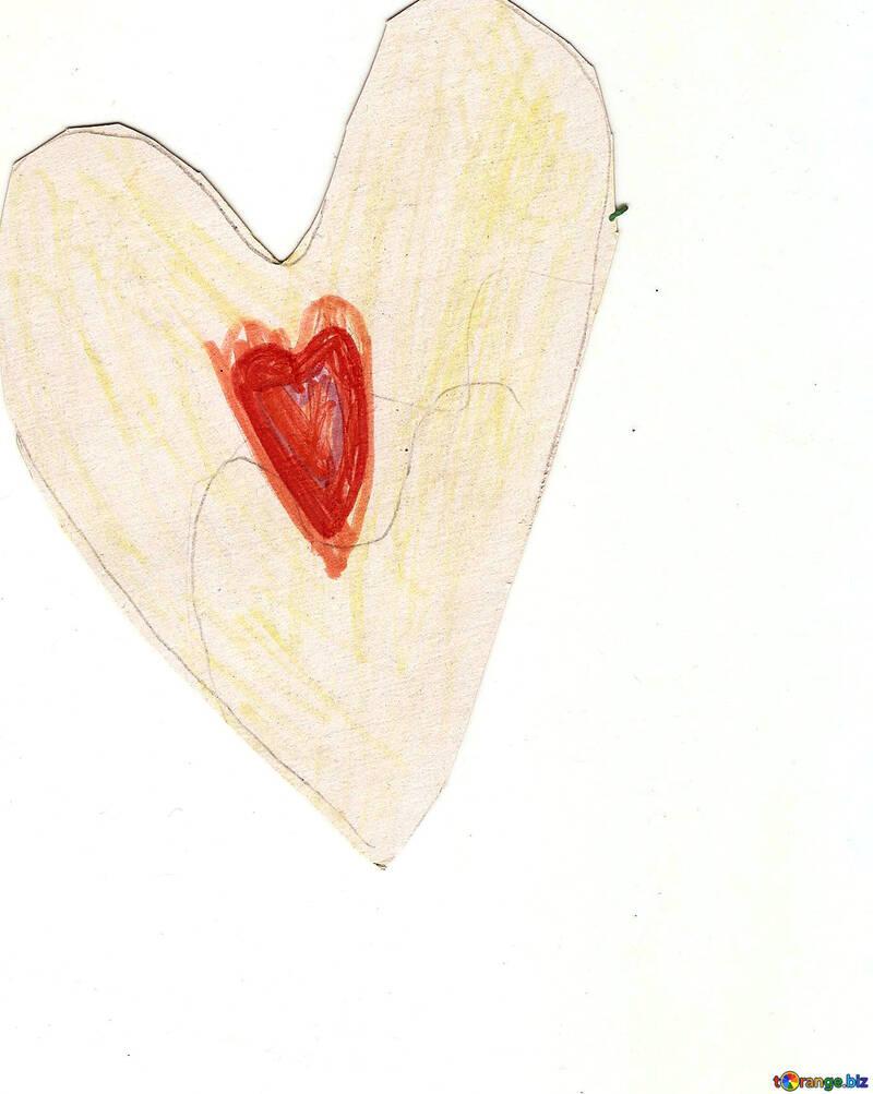 Des Dessins D Enfants Enfants Dessin Coeur Enfance 18730