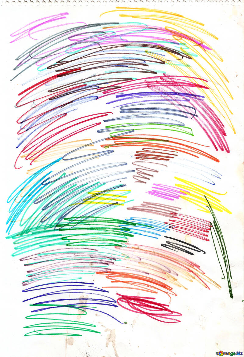 Colored markers №18689