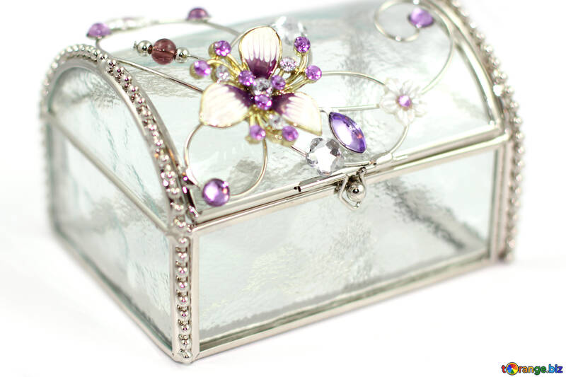 Crystal jewelry box №18077