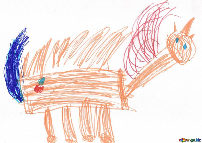 Disegno Di Un Cavallo Per Bambini Unicorno Pegasusbambini Di