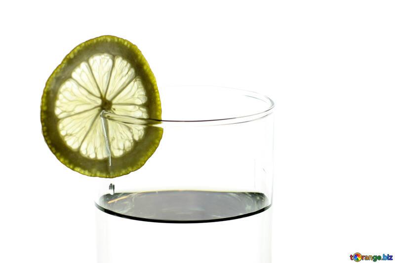 Lemon into glass №18313