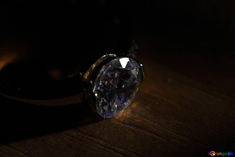 Diamond ring №18585