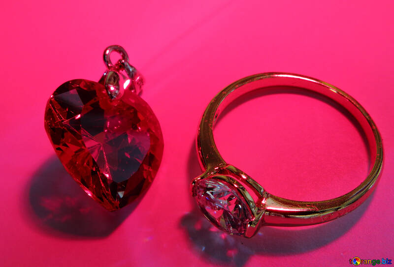 Ring and heart №18283