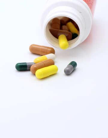 Tabletten in großen Mengen №19937