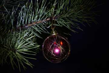 Tree toys for Christmas tree №2355